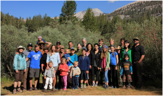 Thacher alumni at Golden Trout Camp